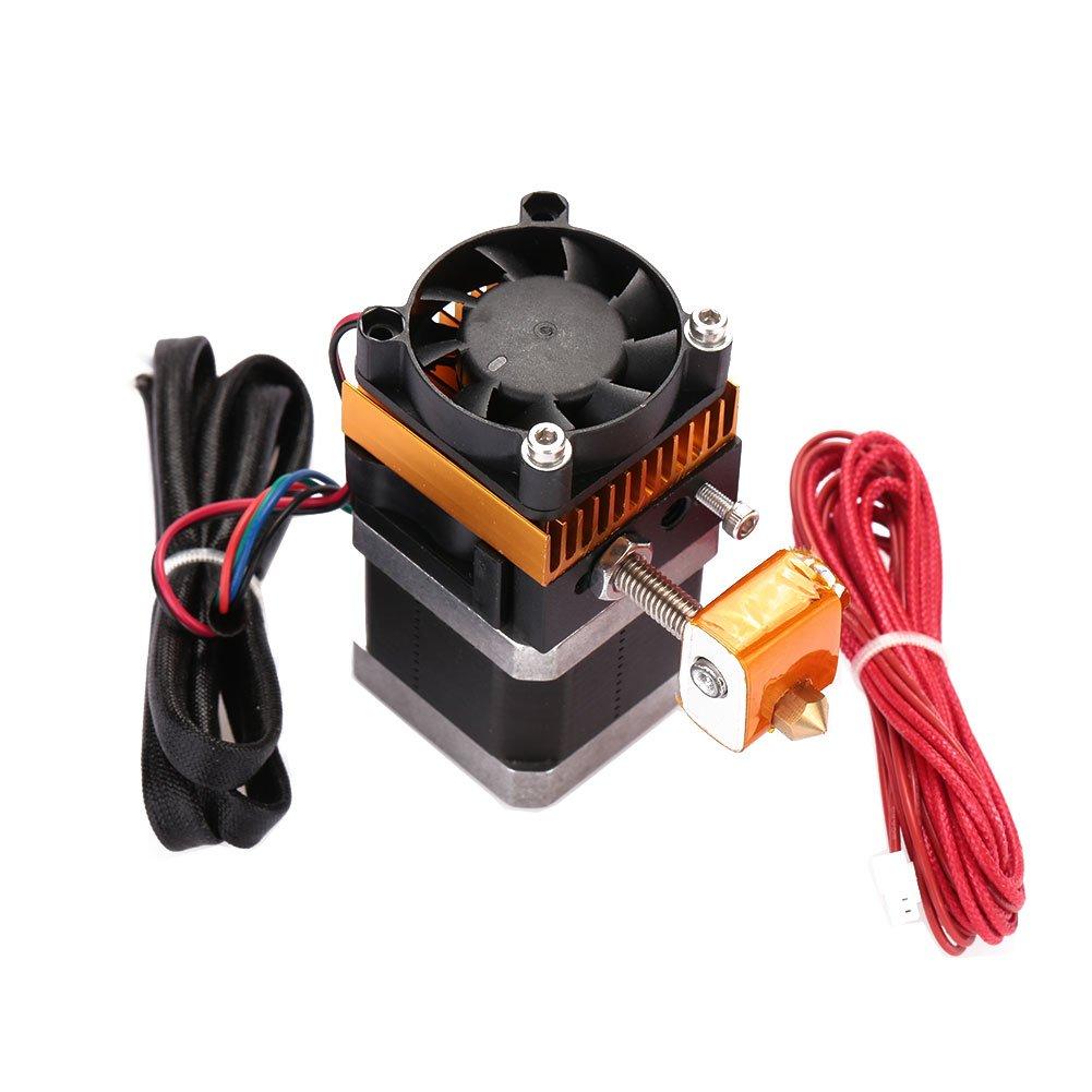 Haihuic MK8 1.75MM Filament Extruder 0.3MM Nozzle Fits For Reprap Prusa I3 3D Printer