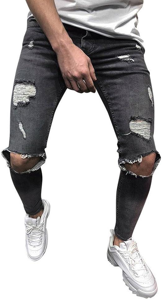 3色 ダメージジーパン デニム パンツ メンズ 黒 ストレッチ 素材で 着心地 抜群 の テーパード ジーンズ カジュアル スキニー 長ズボン ボトムス パン 細身 美脚 スーパーストレッチ