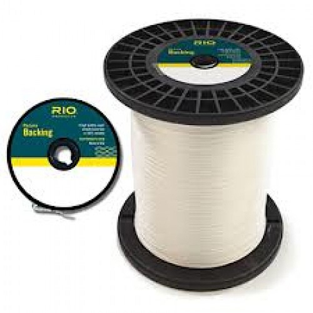 RIO Fly Line Backing, Dacron, 20 lb Test, WHITE - 100 to 5000 Yds (100 yds)