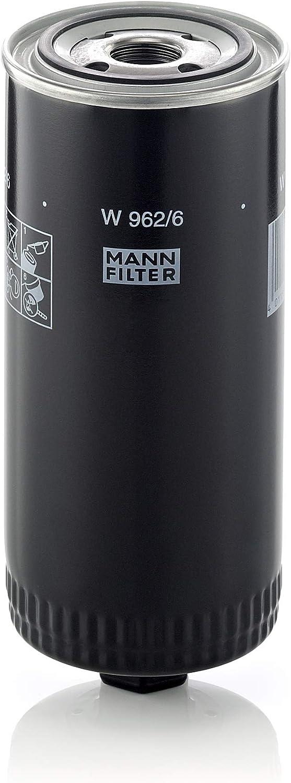 Mann Filter W962 6 Schmierölwechselfilter Für Industrie Land Und Baumaschinen Auto