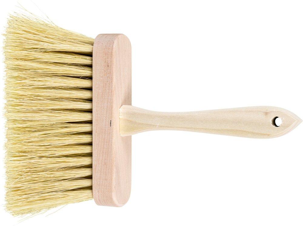 PFERD 89809 Masonry Brush, White Tampico Filament, 6-1/2'' Block Length x 1-3/4'' Block Width, 3-1/2'' Trim Length, 5 Rows (Pack of 12)