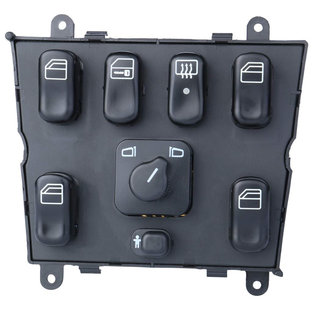 Rigel7 Electric Master Power Window Control Switch Compatible wtih Mercedes Benz ML320 ML430 ML500 Car Auto Repair Parts by Rigel7