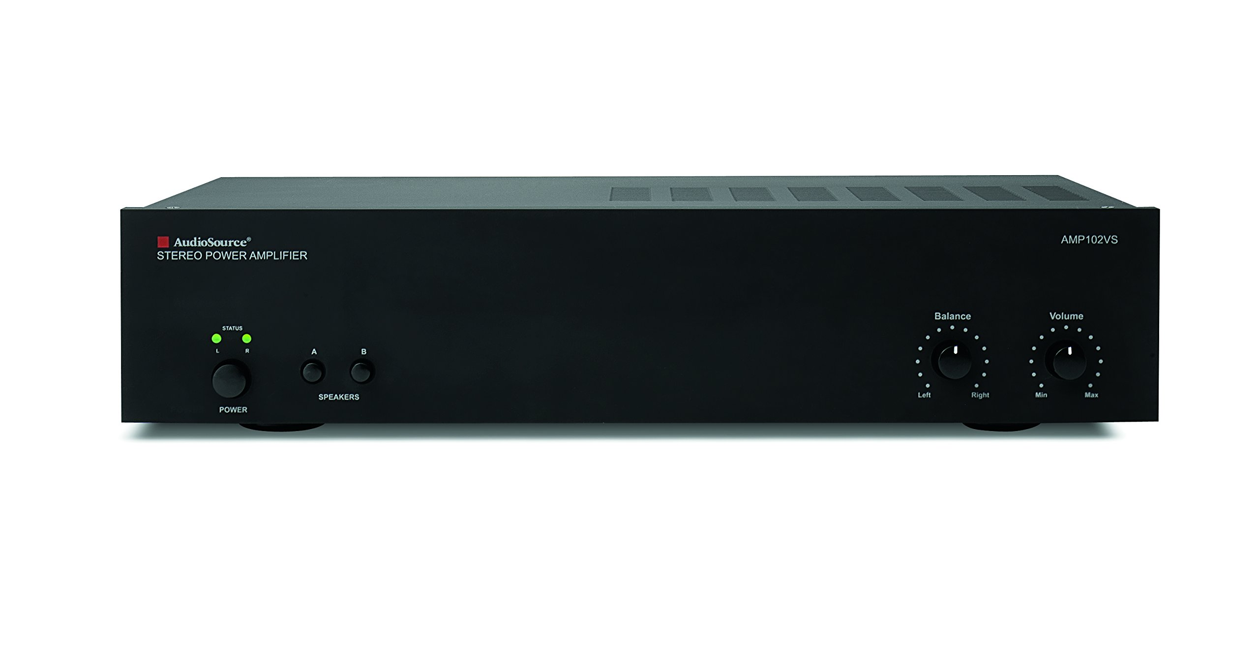 Audio Source AMP102VS 2 Channel Amplifier (Black) by Audiosource