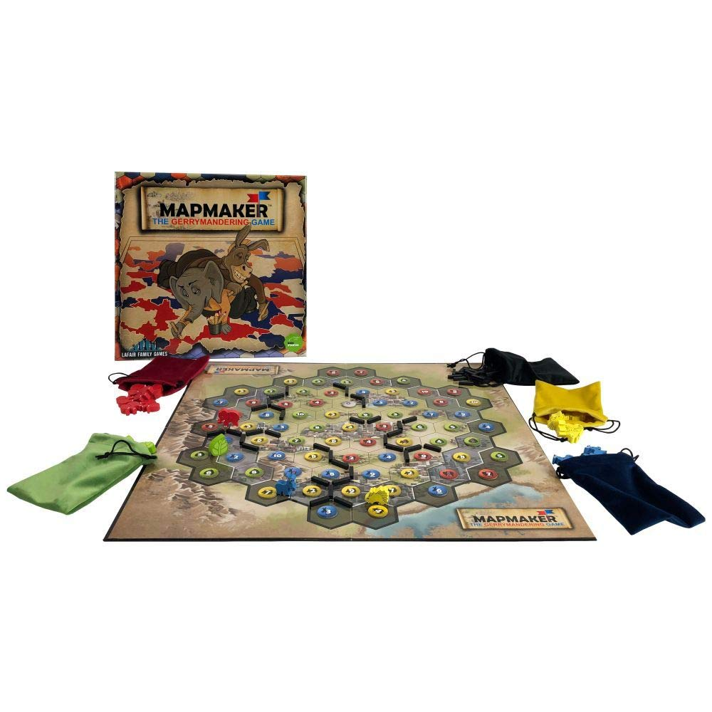 Lafair Family Games Mapmaker: The Gerrymandering Game