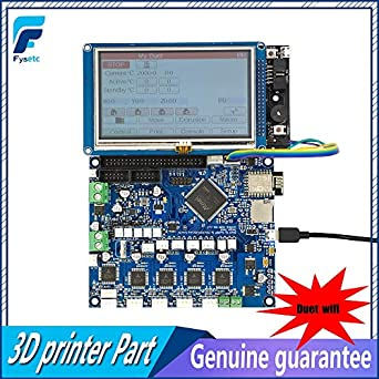 TOOGOO Cloned Duet Ethernet Advanced 32 Bit Electronics Board V1.04 Providing Ethernet Connectivity for 3D Printers CNC Machines