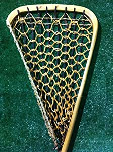 Handmade Traditional Indian Hickory Lacrosse Goalie Stick