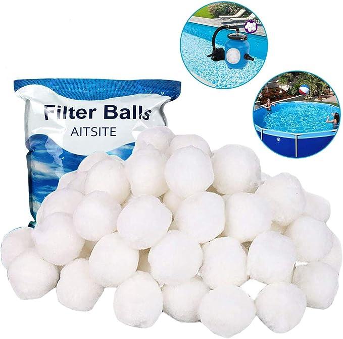 Filter Balls 700g Filterbälle Filtermaterial ersetzen 25 kg Filtersand DHL
