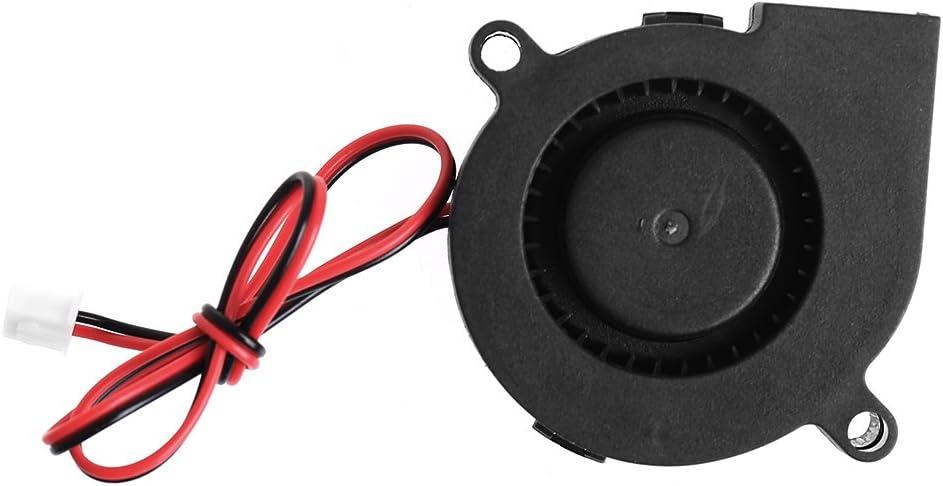 50mmx15mm 12V 0.14A 2-Pin MANGKE Sleeve-Bearing Blower Cooling Fan 5015 Computer PC