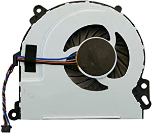 FEBNISCTE New Laptop CPU Cooling Fan for HP Envy M6-N000 M6-N100 m6-n015dx m6-n010dx m6-n113dx m6-n168ca Part Numbers: 720235-001 , 722437-001