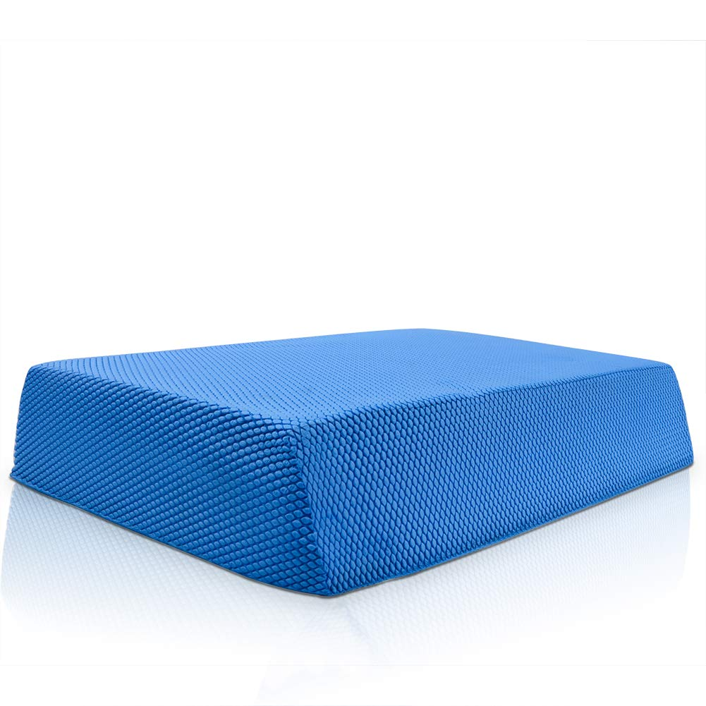 Milky House Balance Foam Pad Non-Slip Balance Board Stability Trainer for Physical Therapy Core Balance Training and Stability Exercises