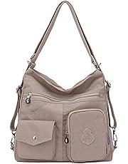 5956f8af90a34 Outreo Mujer Bolsos de Moda Impermeable Mochilas Bolsas de Viaje Bolso  Bandolera Sport Messenger Bag Bolsos