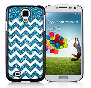 Graceful Samsung Galaxy S4 Case Anchor Glitter TPU Soft Black Cell Phone Covers for Guys