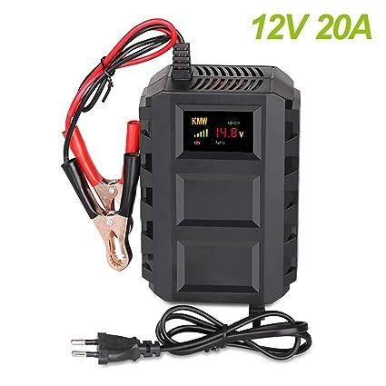 Cargador de batería para moto de coche, 12 V, 20 A, con ...