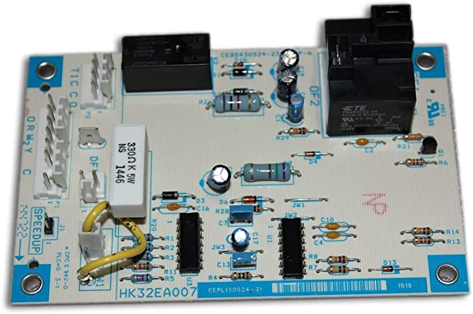 Upgraded Replacement for Carrier Heat Pump Defrost Control Circuit Board HK32FA003
