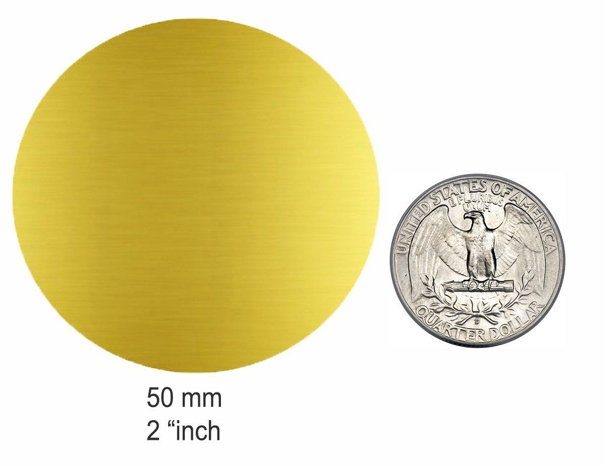 /à usages multiples /étiquette de 5cm Adh/ésif permanent 72 pi/èces Autocollants ronds vert fluo 50 mm 12 Feuilles par Royal Green pour pots et arrimage
