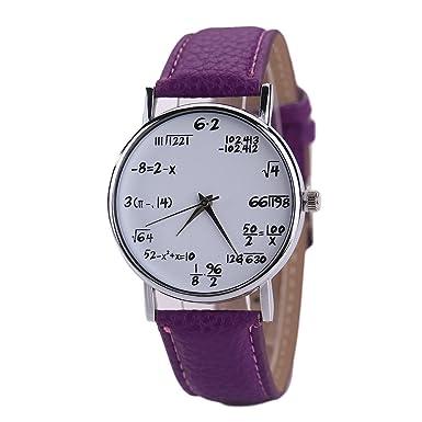 b22b22c587 Dyuansm Femme Montre Mécanique Manuelle En Cuir,Montres de montre de  poignet de quartz de