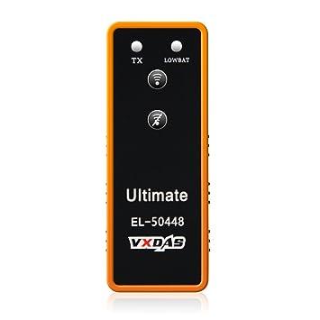 VXDAS Ultimate EL-50448, Sensor de monitoreo automático de presión de neumáticos TPMS Reaprender