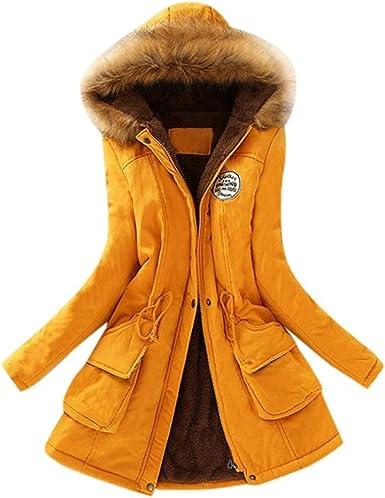 Mujer Invierno Chaqueta Calido Tallas Grandes Cazadoras A Pruepa De Viento Casual Abrigo Con Capucha Jacket Parka Outwear Fannyfuny Amazon Es Ropa Y Accesorios