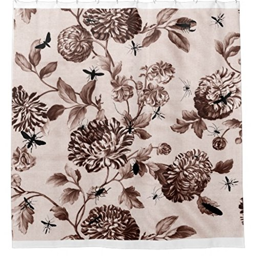 Floral Toile Curtain - 3