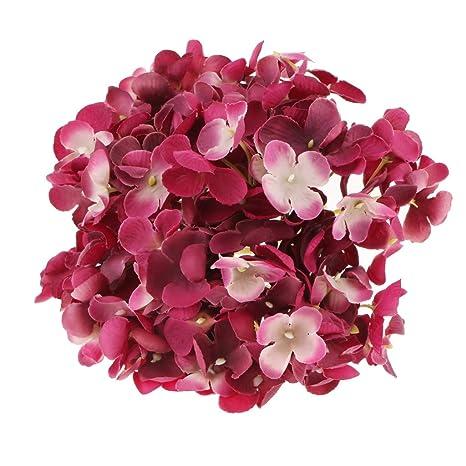 Homyl Flores Artificiales De Hortensia De Seda Arreglo