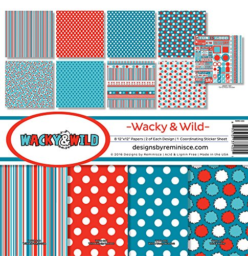 Reminisce Wacky & Wild Collection Kit by Reminisce