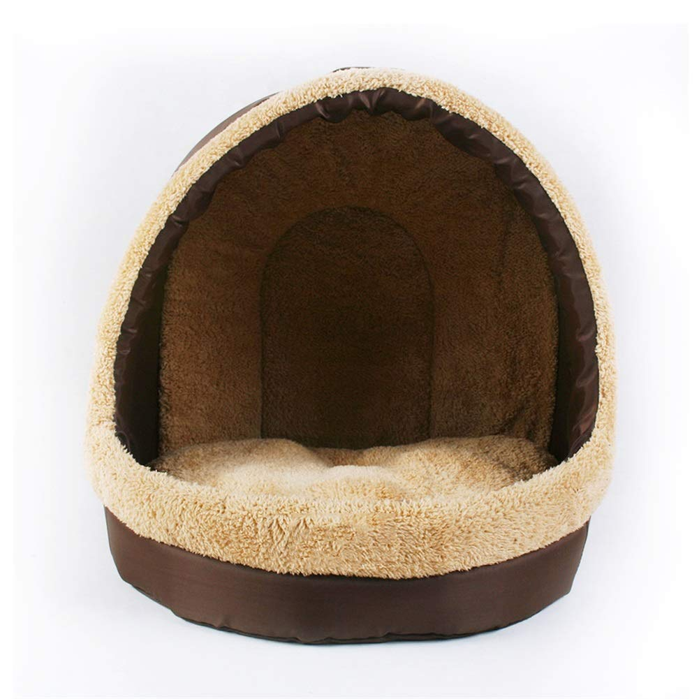 403538cm Kennel Kennel Small Medium Kennel Pet Bed Cat Litter Cat House Washable Seasons Environmentally Friendly Portable Triangle Pet Bed (Size   40  35  38cm)