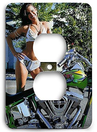Green Harley Davidson Bikes sv1381 Outlet Cover]()