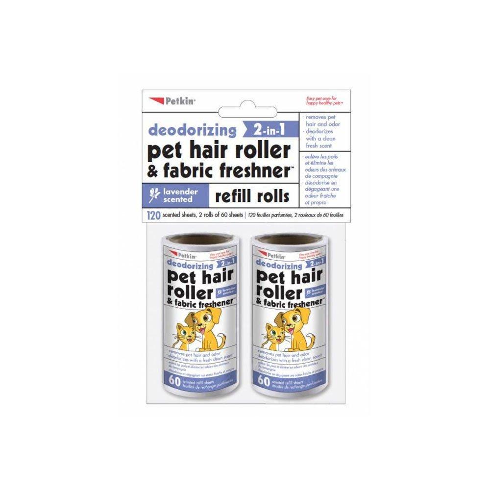 Petkin PK5462 120 Count Vanilla Pet Hair Roller Refills