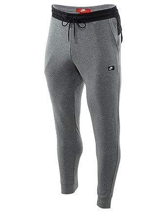 e5a9555f69c6 832172-091 MEN M NSW MODERN JGGR LT WT NIKE CARBON HEATHER BLACK at Amazon Men s  Clothing store