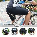 Pantaloncini-Ciclismo-Uomo-Imbottiti-Traspirante-Leggero-9D-Gel-Imbottite-Pantaloncini-Bici-da-Ciclismo-per-Montagna-Bicicletta-Nero