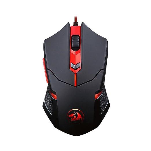 31d55ea2eb1 6 opinioni per RED DRAGON ICMG0601- Mouse Ottico Gaming USB 2000 dpi 6 Tasti  Centrophorus