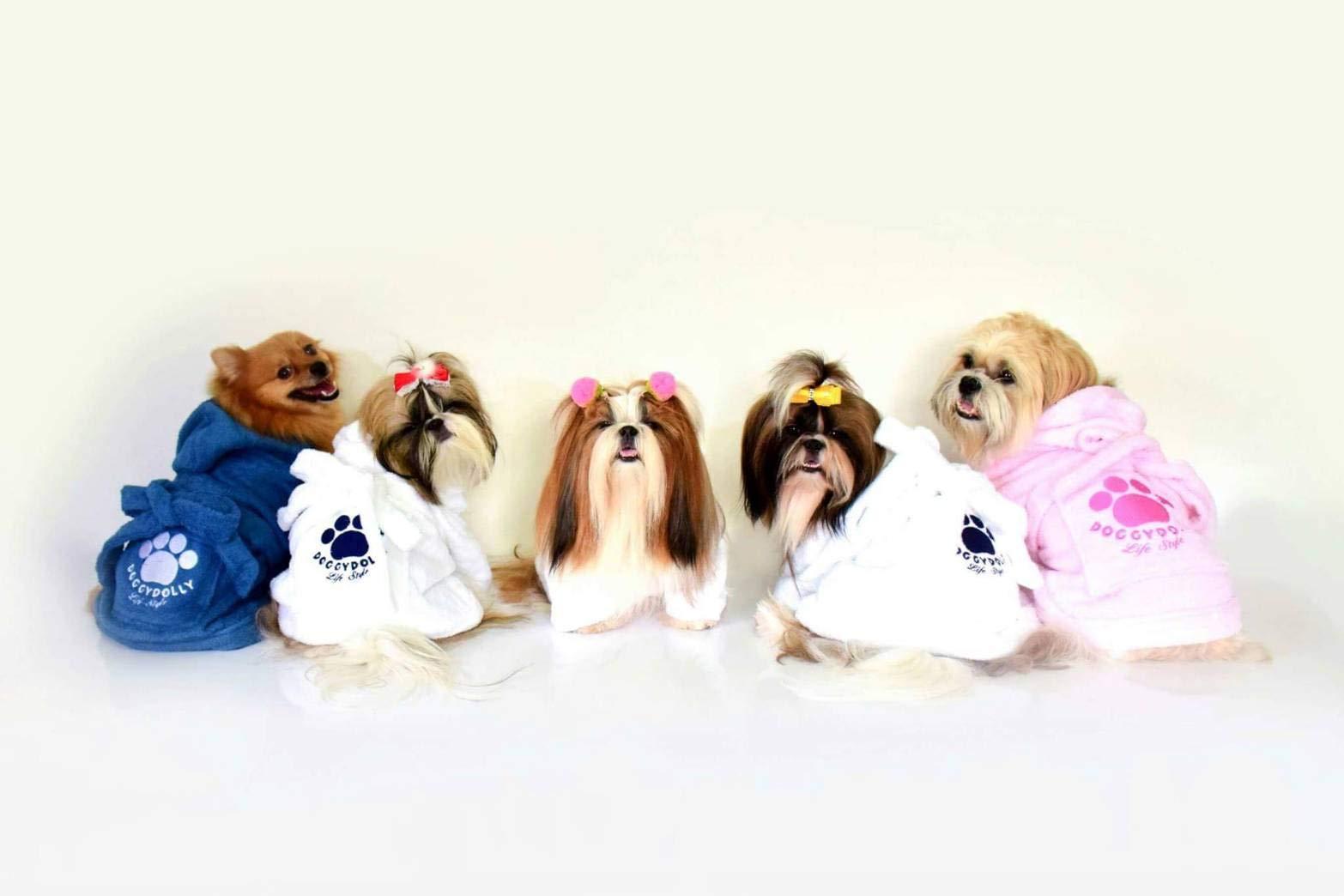 Peignoir pour chiens DRF001-XXL von Doggydolly