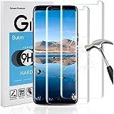 Galaxy S9 Schutzfolie Panzerglas, [2 Stück]Bukm Samsung Galaxy S9 Panzerglas Glas Displayschutzfolie Schutzglas Displayschutz Screen Protector für Galaxy S9 [0.25mm 2.5D 9H Härtegrad]