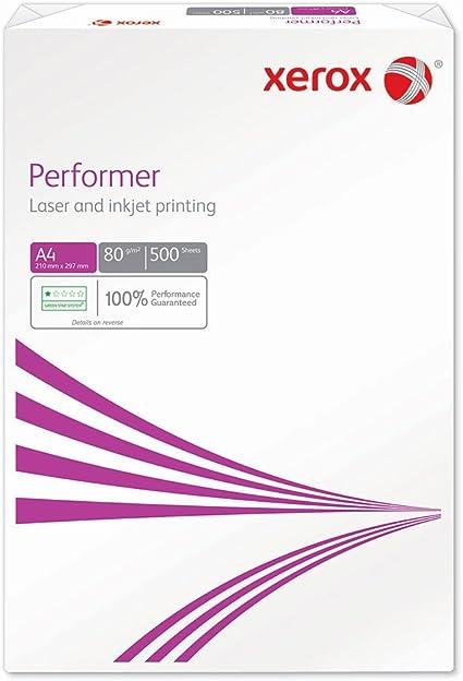Xerox A4 80 gramos - Papel A4, paquete de 500 hojas: Amazon.es: Oficina y papelería