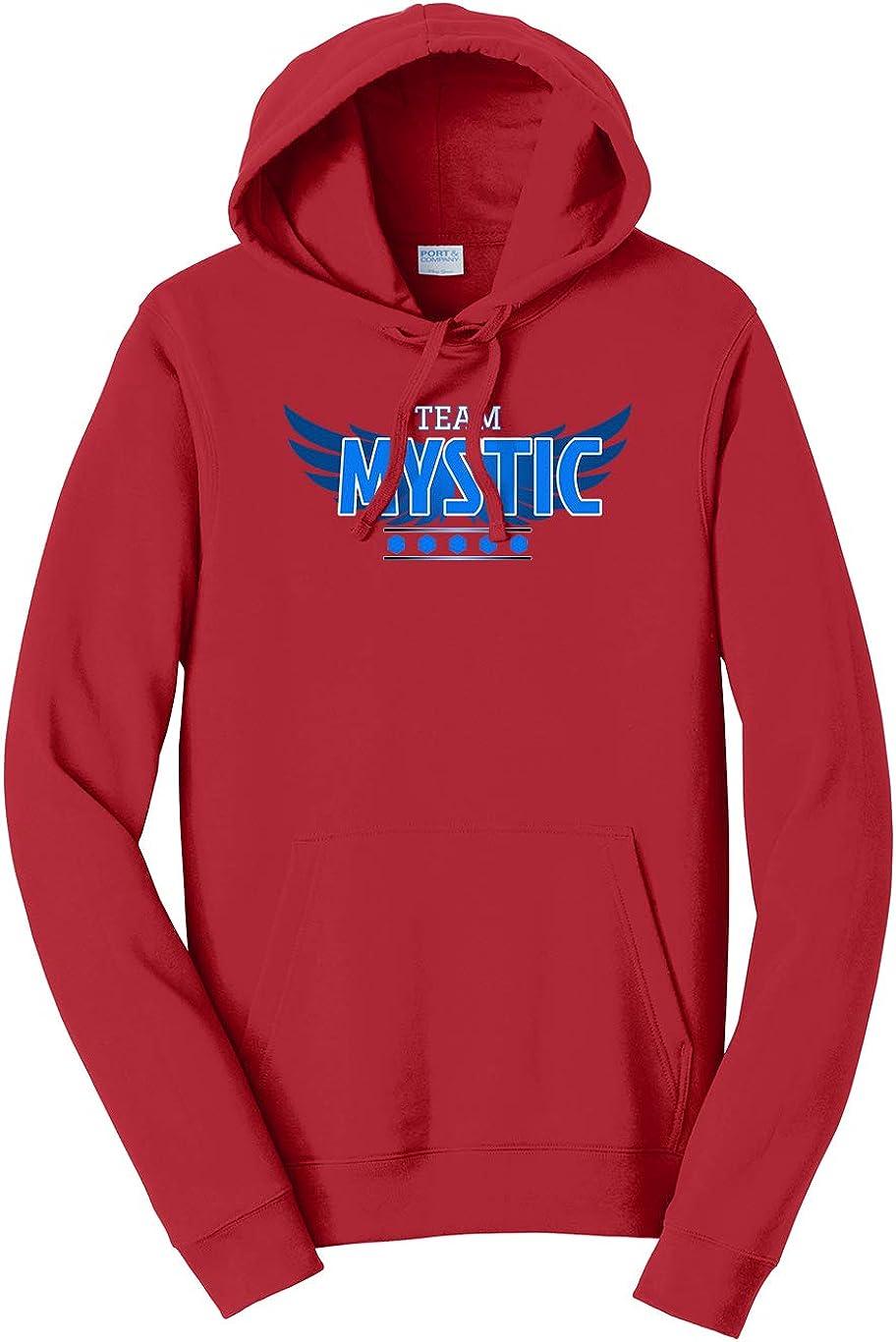 Tenacitee Unisex Team Mystic Hooded Sweatshirt