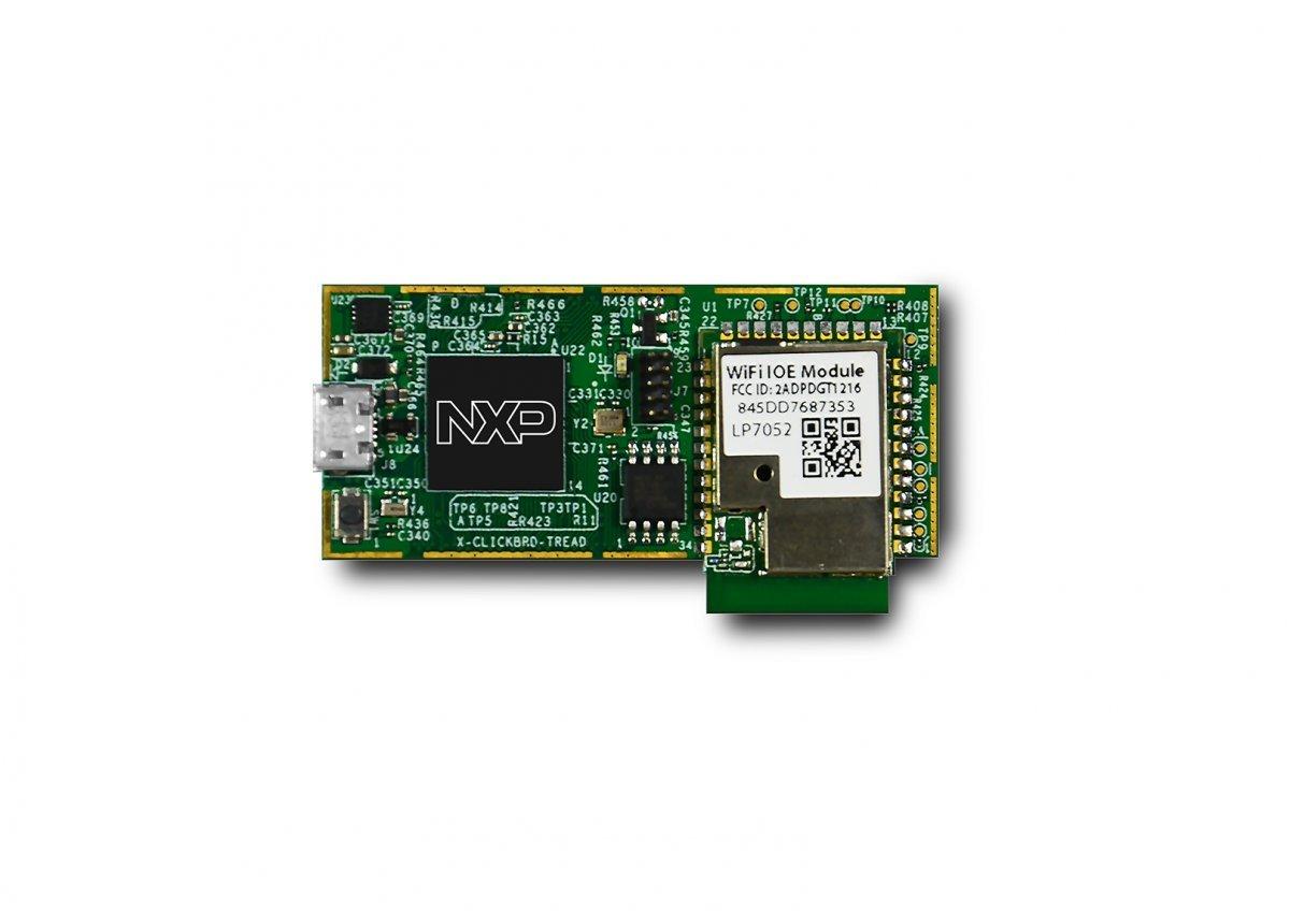 NXP LPC54018-based IoT Module with Amazon FreeRTOS