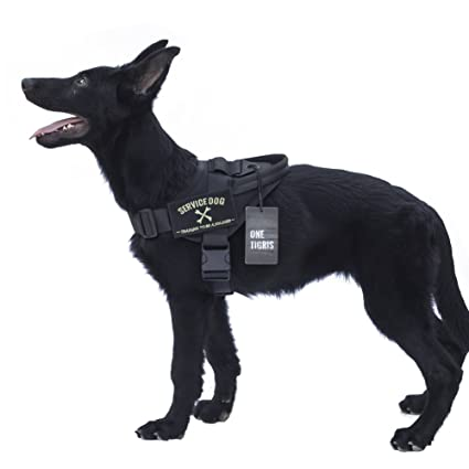 Amazoncom Onetigris Tactical K9 Training Vest Adjustable Service