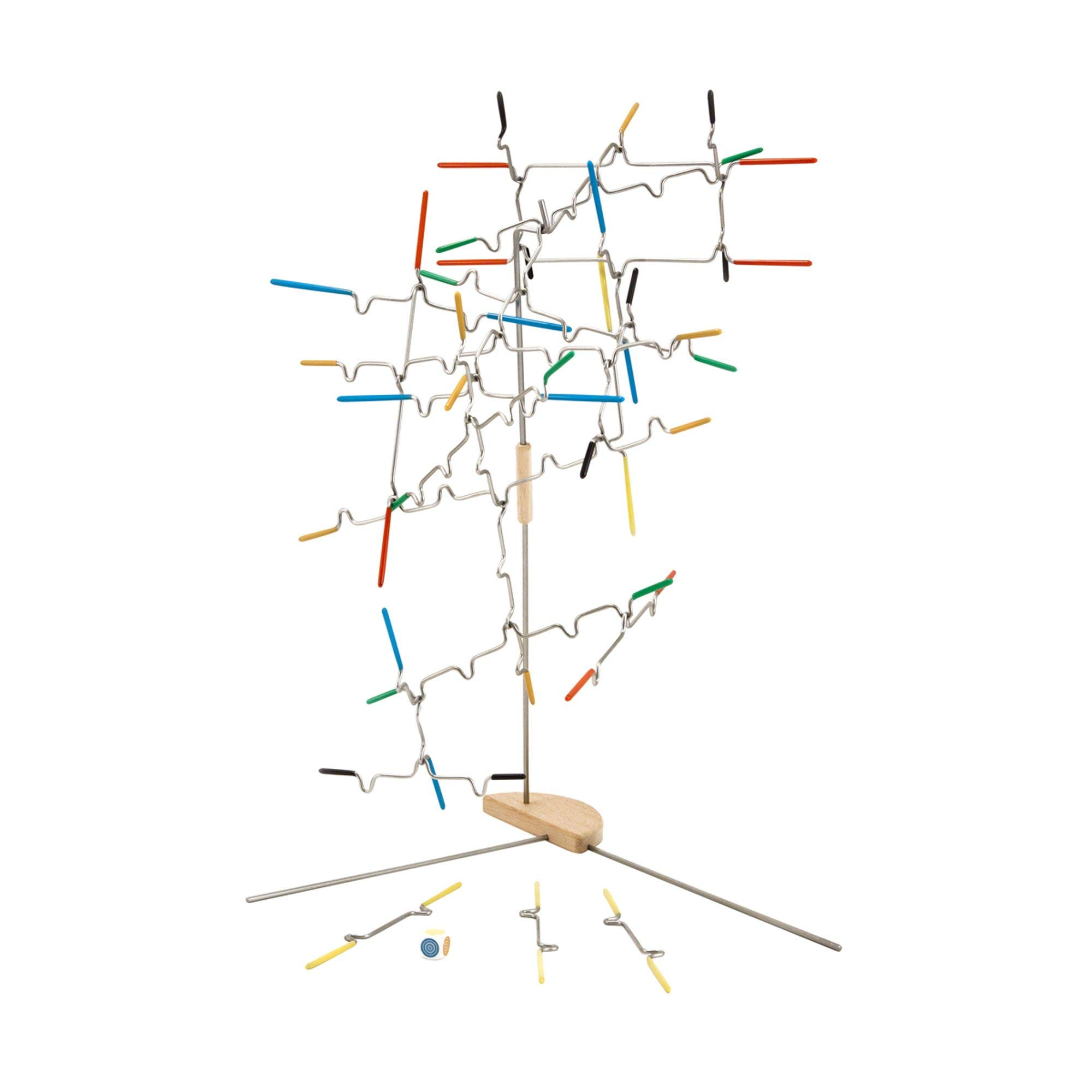 Melissa & Doug Suspend Family Game, Classic Games, Exciting Balancing Game, Develops Hand-Eye Coordination, 12.5'' H x 2.8'' W x 2.8'' L by Melissa & Doug (Image #5)