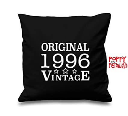 21st Birthday Cushion Cover Gift Idea Present Daughter Son 1996 Amazoncouk Kitchen Home