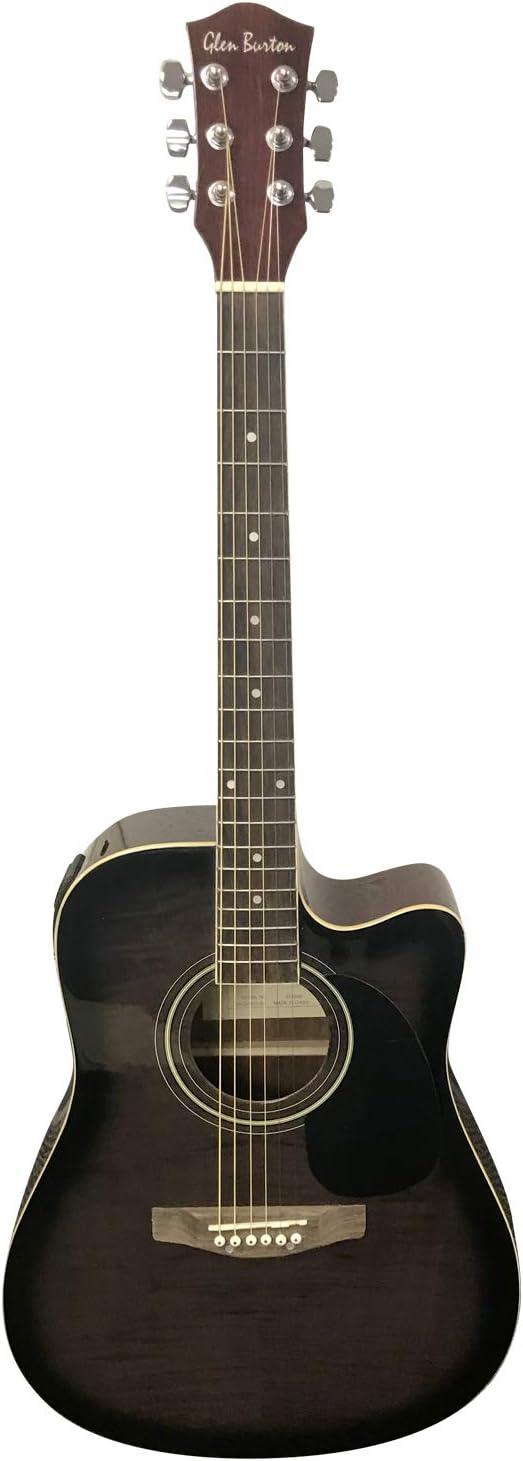 Glen Burton GA204BCO-BK - Acoustic-Electric Guitar Review! 2