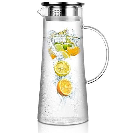 Amazon.com: artcome 1,5 litro/52 Oz hecho a mano vidrio ...