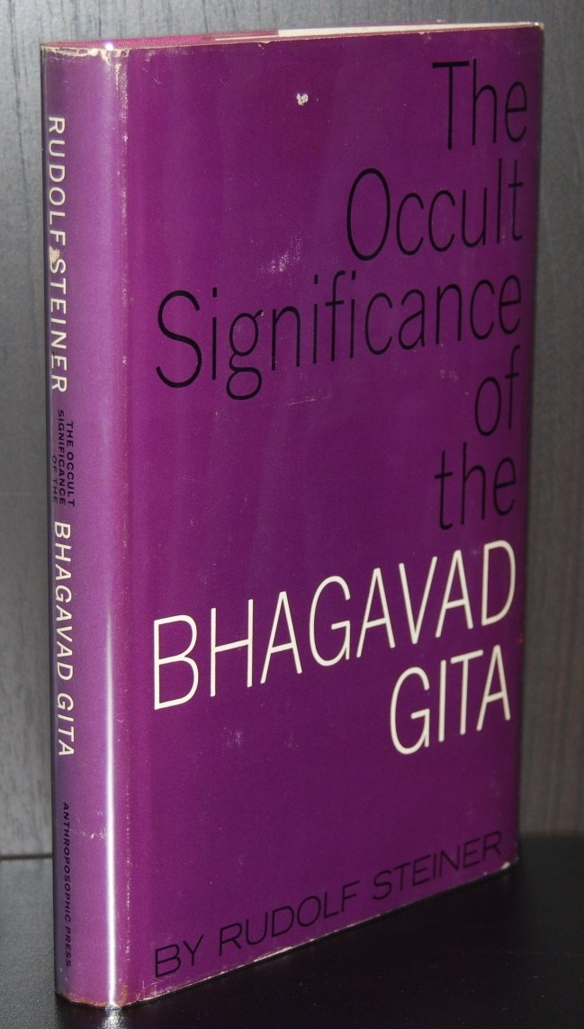 The occult significance of the Bhagavad Gita;: Nine lectures, Helsingfors, May 28-June 5, 1913