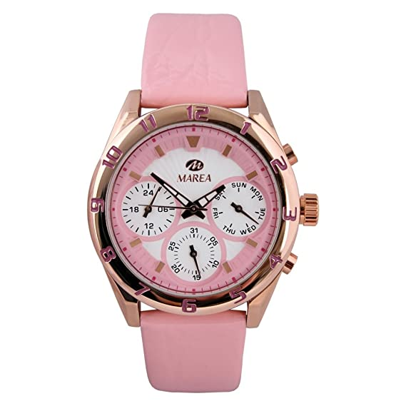 B35258/1 Reloj Marea Mujer, multifunción, caja de acero, correa