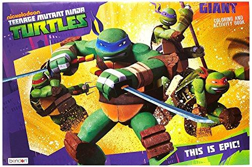 Nickelodeon Teenage Mutant Ninja Turtles Giant Coloring Book