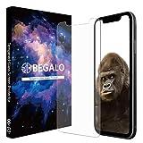BEGALO iPhone Xs Max/Plus 用 ガラスフィルム 【 ゴリラガラス +0.2mm】【曲げても割れない】 GORILLA GLASS ガラス フィルム 保護フィルム 高透過率 指紋防止 気泡ゼロ 自己吸着 2.5Dラウンドエッジ 飛散防止 ( iPhone Xs Max, 6.5インチ)