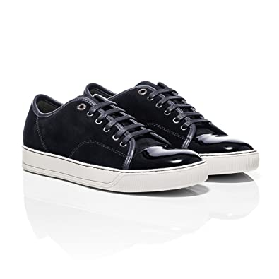 3450fee26bf57 Lanvin Patent Toe Cap Suede Trainer (6 UK): Amazon.co.uk: Shoes & Bags
