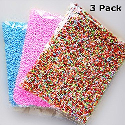 Cheap Slime Beads Foam Balls - QMinus Colorful Styrofoam Balls 0.1-0.18 inch (45000 pcs) Decorative ...
