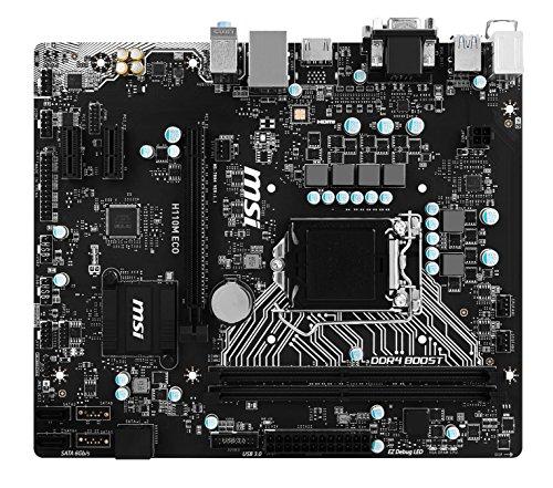 MSI Intel Skylake H110 LGA 1151 DDR4 USB 3.1 Micro ATX ...