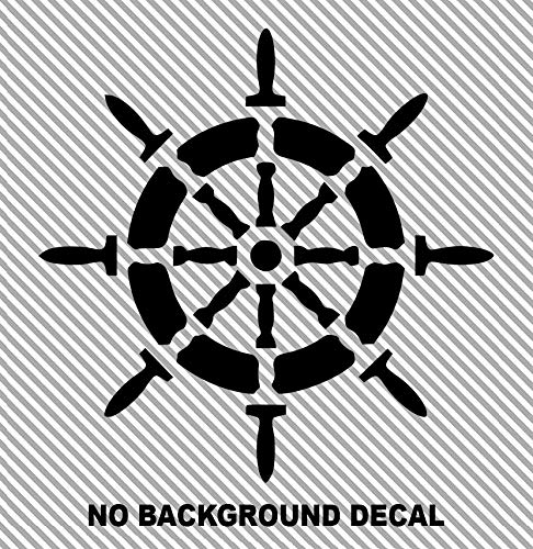 Ship Wheel Sailing Ocean Sail Boat Sailboat Car Truck Suv Rear ...