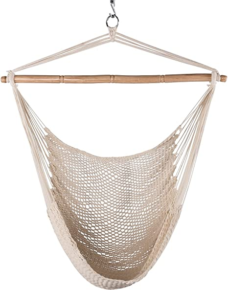 Lazy Daze Hammocks Hanging Caribbean Hammock Chair - The Best Of Caribbean Hammocks